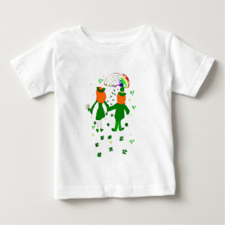 Lycklig tillsammans, irländare kopplar ihop, tröjor