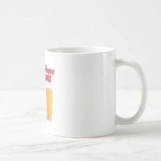 Lycklig timme kaffemugg