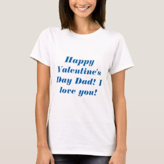 Lycklig valentin dagpappa tshirts