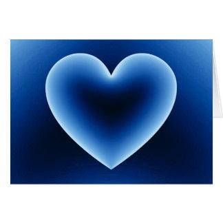 Lycklig valentin hjärta för dag 3d hälsningskort