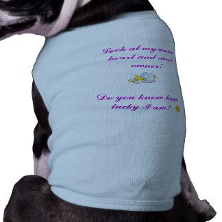 Lycklig vovveT-tröja Husdjurströja