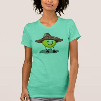 Lyckliga ansikteCinco de Mayo T-tröja och gåvor T-shirts