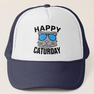 Lyckliga Caturday Truckerkeps