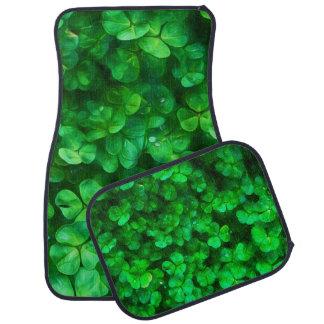 Lyckliga Celtic irländaregröntShamrocks Bilmatta