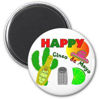 """""""Lyckliga Cinco saltar limefrukt för de Mayo"""", Teq Magnet"""