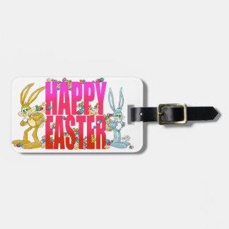 Lyckliga Easter. Bagagebricka