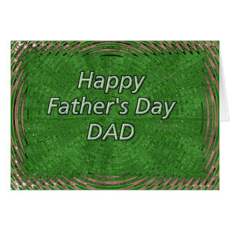 Lyckliga Father' s-dagpappa Hälsningskort