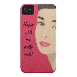 Lyckliga flickor är nätt flickor!: Gullig iPhone 4 Fodraler