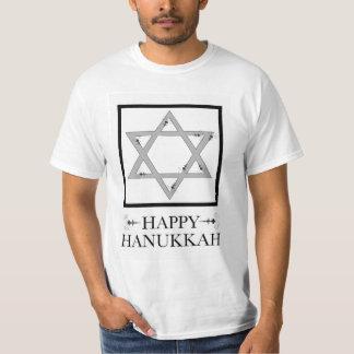 lyckliga hanukkah (stjärnan av david elegans) tshirts