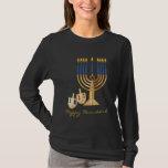 Lyckliga Hanukkah Tröja