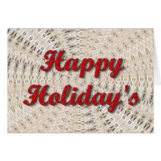 Lyckliga Holiday' s Hälsningskort