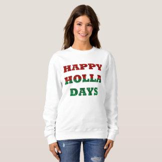 lyckliga holladagkvinna tröja