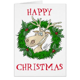 Lyckliga julhälsningar hälsningskort