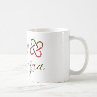 Lyckliga Kwanzaa Bokeh Umoja Kaffemugg