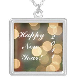 Lyckliga NewYear! , 2011 Silverpläterat Halsband