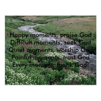 , Lyckliga ögonblick, berömGodDifficult momen… Vykort