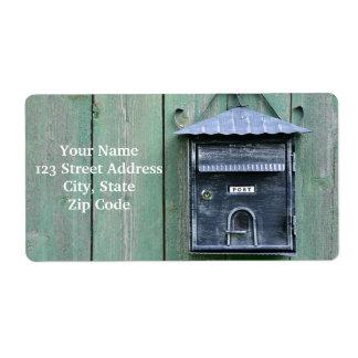Lyckliga Postcrossing! Brevlåda Fraktsedel