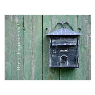 Lyckliga Postcrossing! Brevlåda Vykort