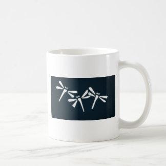 Lyckliga sländor kaffemugg