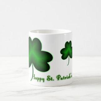 Lyckliga Sts Patrick dag! Kaffemugg