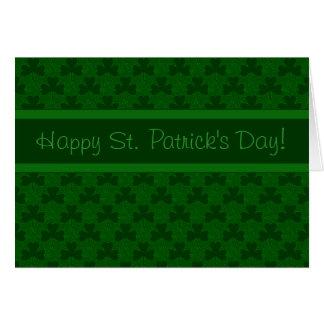 Lyckliga Sts Patrick dag OBS Kort