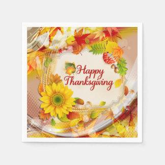 Lyckliga Thanksgiing 11A alternativ Papper Servetter
