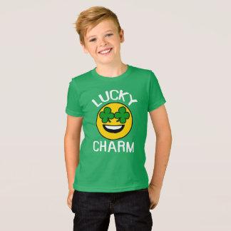 Lyckliga ungar för st patricks day för tee shirts
