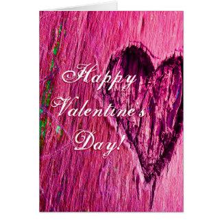 Lyckliga valentin för singelhjärta dag i rosor
