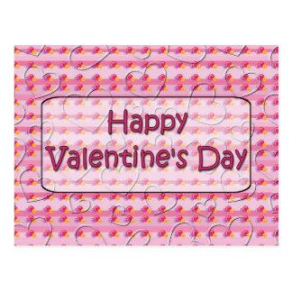 Lyckliga Valentine' s-dag Vykort