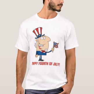 LyckligFourth av Juli T-shirts