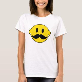 Lyckligt ansikte för Hipster T-shirts