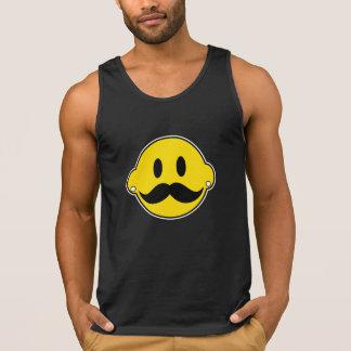Lyckligt ansikte för Hipster Tanktop