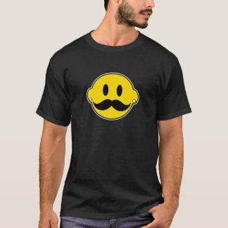 Lyckligt ansikte för Hipster Tröjor