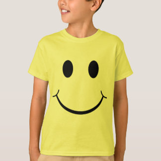 Lyckligt ansikte för klassiker70-talSmiley T Shirt