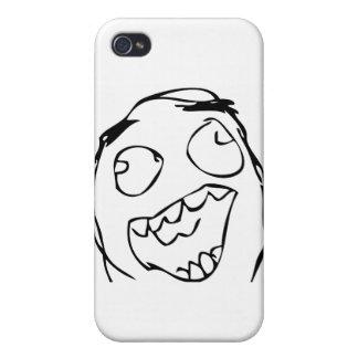 Lyckligt ansikte iPhone 4 skal