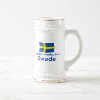Lyckligt att gifta sig till en svensk sejdel
