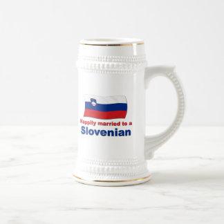 Lyckligt att gifta sig till ett slovenskt sejdel