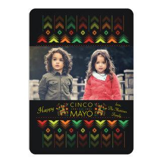 Lyckligt Cinco de Mayo fotokort 12,7 X 17,8 Cm Inbjudningskort