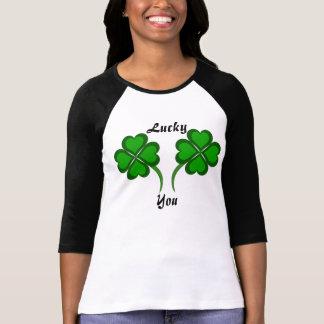 Lyckligt dig tshirts