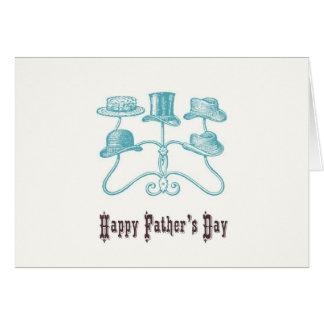 Lyckligt fars dagkort hälsningskort