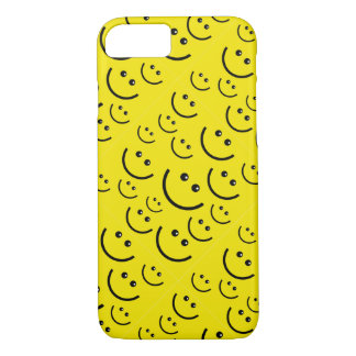 Lyckligt fodral för smiley faceiPhone 7