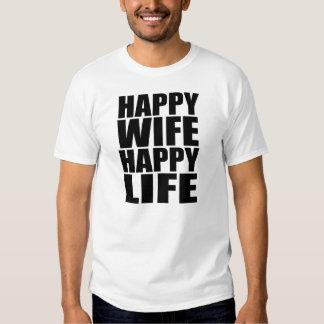 Lyckligt frulyckligliv tshirts