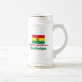 Lyckligt gift bolivianskt sejdel