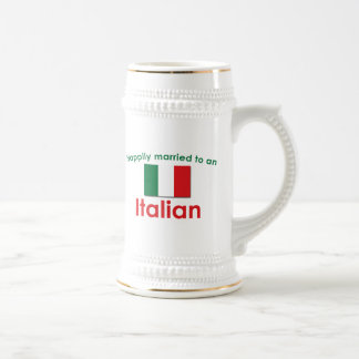 Lyckligt gift italienare sejdel