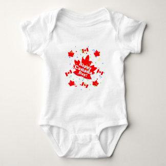 Lyckligt Kanada dagparty T-shirt