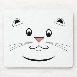 Lyckligt kattansikte Mousepads Musmatta