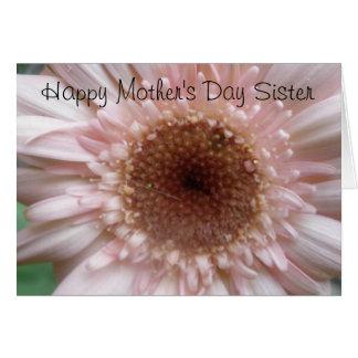 Lyckligt mors dagsysterkort hälsningskort
