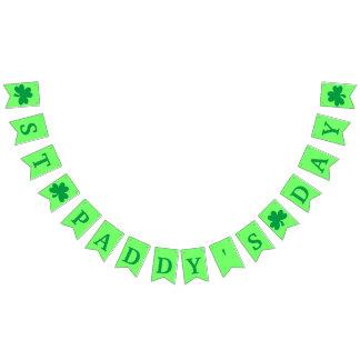 Lyckligt Sts Patrick baner för dagfirande Vimplar