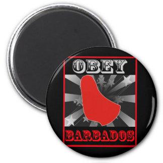 Lyda Barbados Magnet