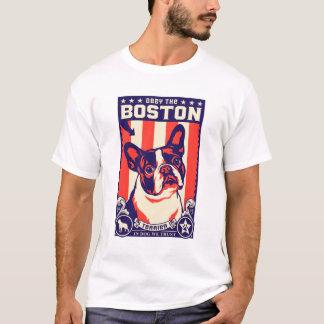 Lyda den Boston terrieren! Tshirts